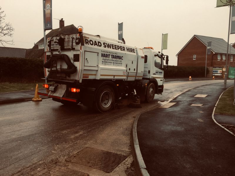 Road Sweeper Swanage